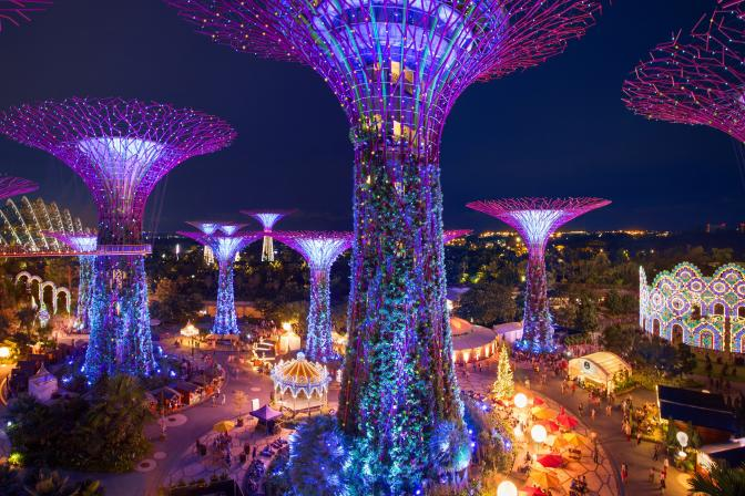 The Most Spectacular Christmas Wonderland In Asia
