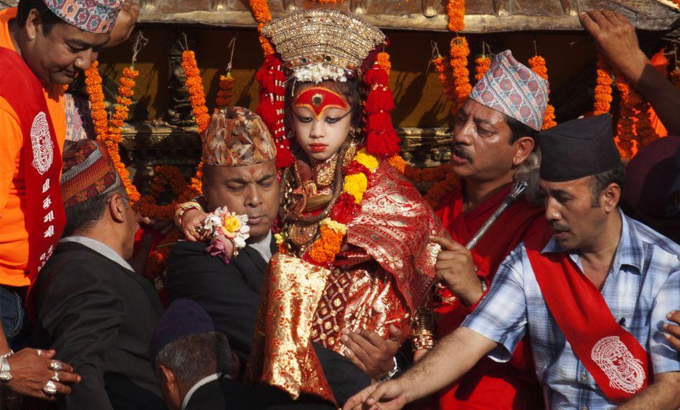Asian Date | The Fascinating World Of Kumaris: Nepal's Living Goddesses
