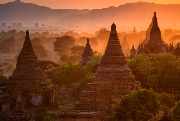 Bagan - Romantic Asian Sunsets To Watch With Your Valentine