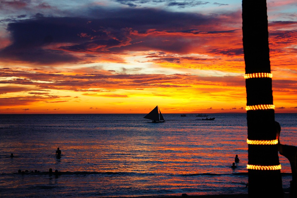 Boracay Beach is one of the most romantic couple destinations in the Philippines.