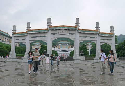 The National Palace Museum deserves a visit for its vast collection of paintings, ceramics and other Chinese works of art.
