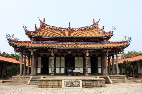 Confucious Temple is one of the most famous temples adding to the charm of cosmopolitan Taipei.