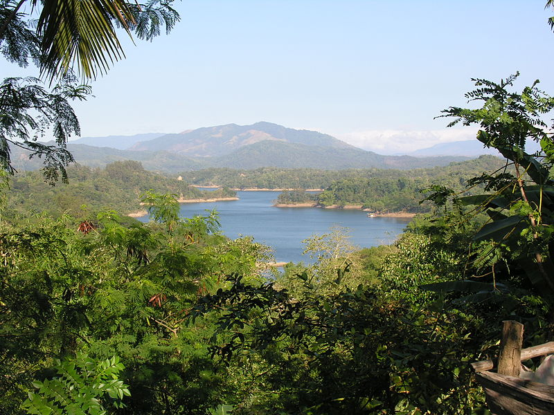 7 lakes is one the most popular sights in the Philippines.