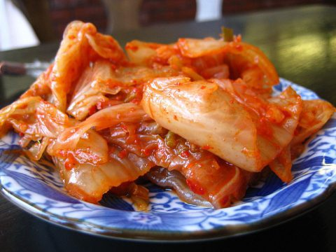 The traditional Kimchi is a standard feature in the menu of every Korean restaurant.