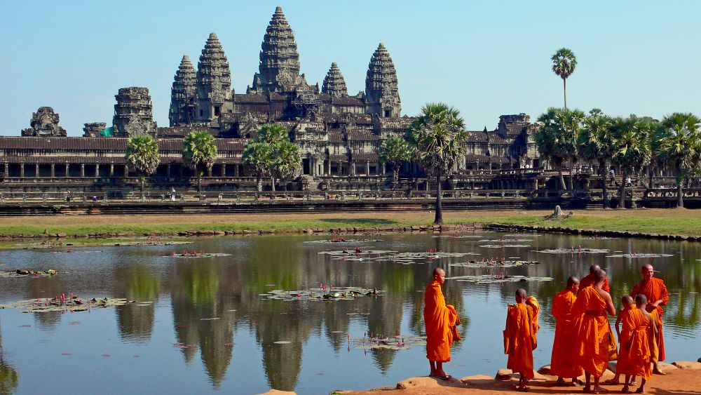 Angkor Wat is one of the 7 ancient wonders of the world, and a reason to visit Cambodia.
