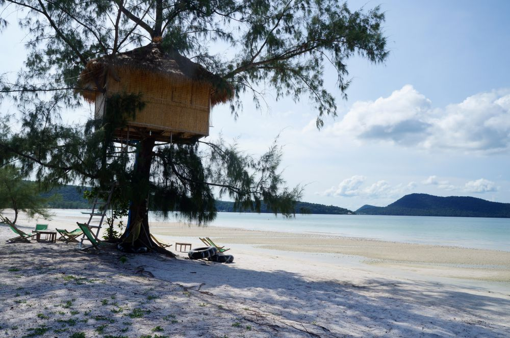 Beautiful beaches are just one more reason to visit Cambodia.