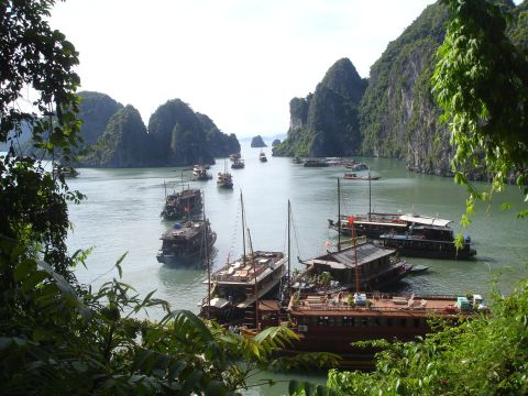 "Ha Long Bay is one of the movie-Inspired Asian destinations, since ""Kong:Skull Island"" was partly shot there."