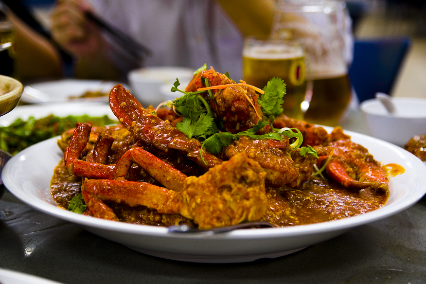 Chili crab is another reason why Asia is a foodie's Paradise.